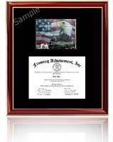 Financial Certification Certificate Frames