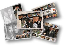 Wedding photo collage and photo montage wedding gift