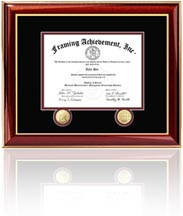 Real Estate License Frame