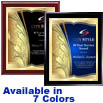 Laurel Grove Premium Digital Imprint Stylized Designer Award Plaque