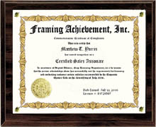 Browse our document and certificate framing website for a unique custom certificate sold separately engraved desk clock award yadclub Choice Image