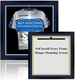 Shadow Box Cycling Jersey Frame And Cycling Shirt Display